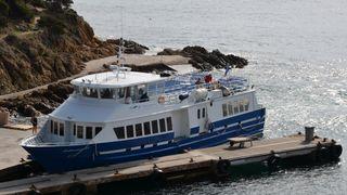 Compagnie maritime TLV : Le Levant au départ du Port d'Hyères
