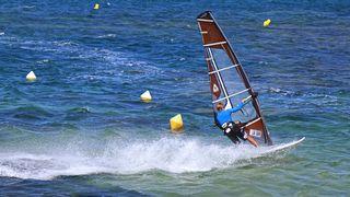 Spot de planche à voile de la plage de St-Pons-les-Mûres