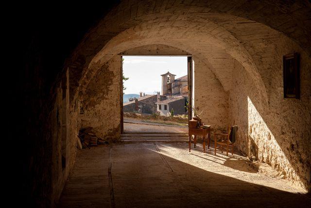 Cathédrale souterraine (citerne du château) - Saint Martin de Pallières