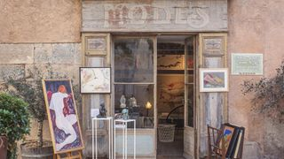 Atelier - Galerie Corinne Vue