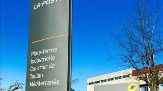 Plateforme industrielle Courrier Toulon Méditerranée