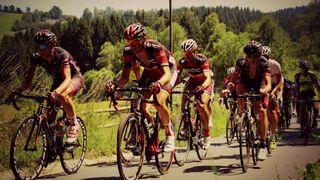 De Saint-Maximin à la Méditerrannée à vélo