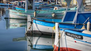 Le Lavandou harbour
