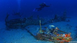 mustang P51 wreck