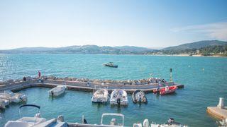 The port of La Gorguette