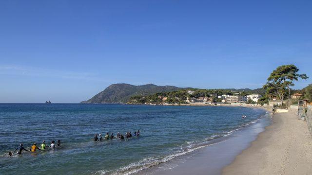 Plage des Sablettes La Seyne sur Mer