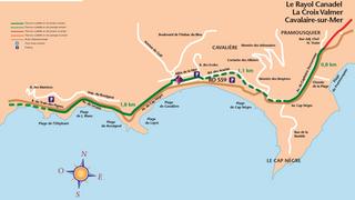 Parcours cyclable du littoral - V65 : Le Lavandou > Rayol-Canadel