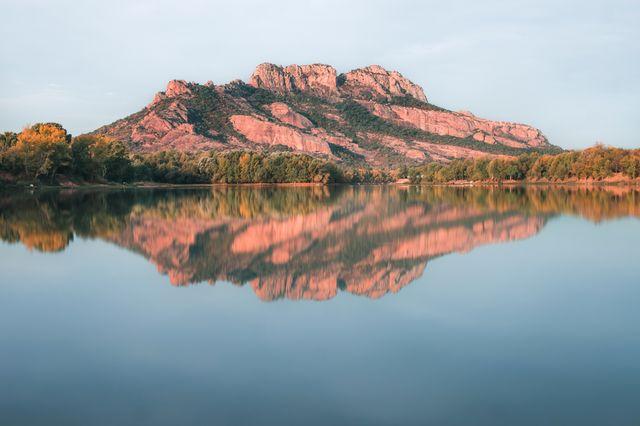 Lac Perrin et Rocher