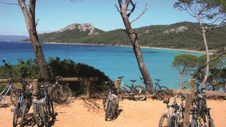 Journée à Porquerolles à vélo avec les Bateliers de la Côte d'Azur