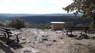 Viewpoint of the site Notre Dame de La Roque