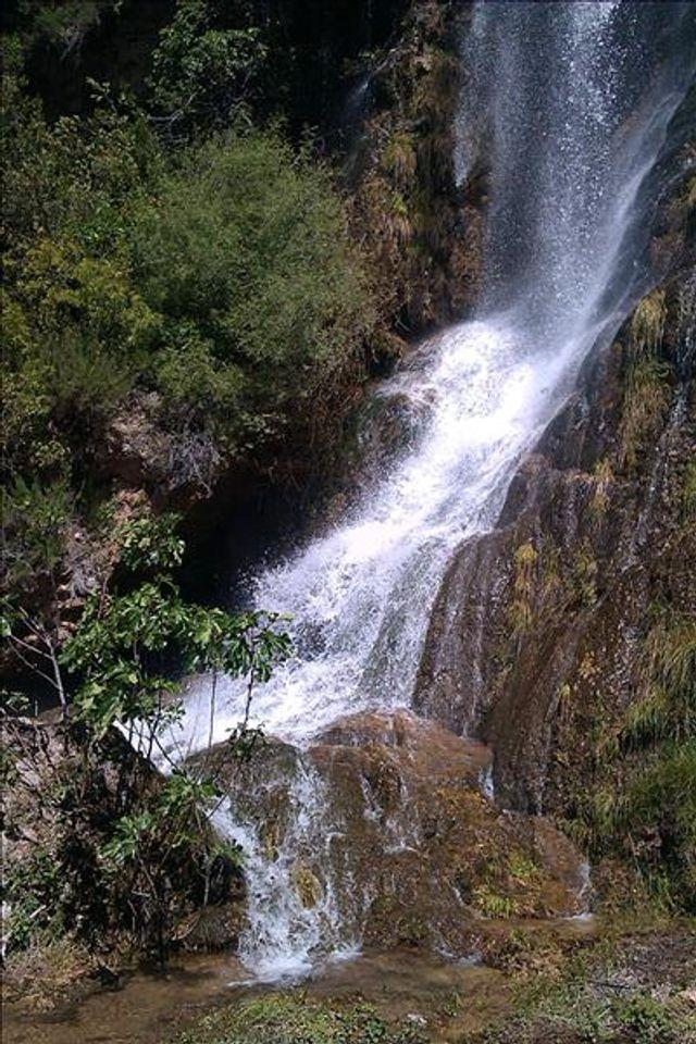 La cascade de Villecroze