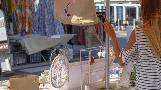 Le marché de Sainte-Maxime
