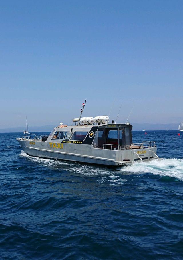 bateau taxi 24h/24h Porquerolles
