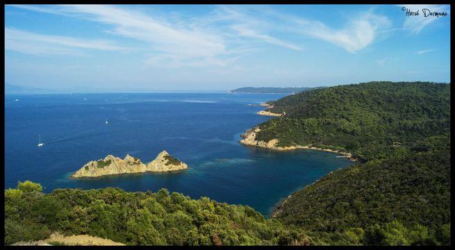Plage de la Palud - île de Port-Cros - Hyères