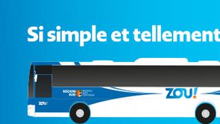 Arrêt de bus ZOU