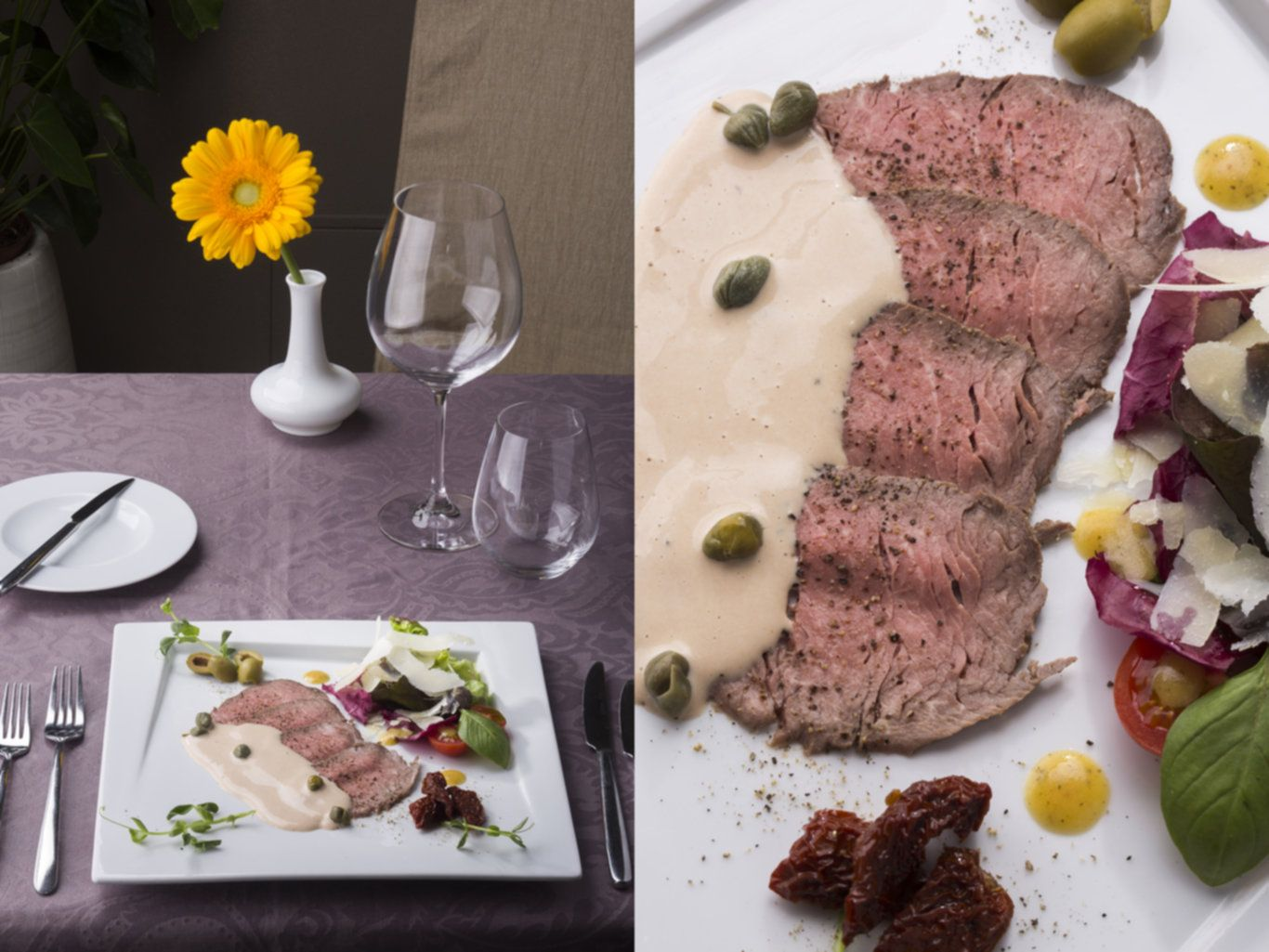 Exclusive 3 course lunch menu in resturant Mix 15 €
