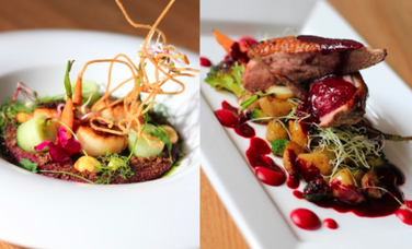 A 4-course menu of your choice and a glass of wine/beer/juice 39€!