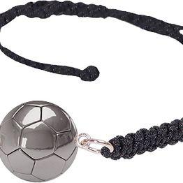 Aetoma Ανδρικό ασημένιο βραχιόλι μπάλα ποδοσφαίρου