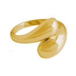 AD Εντυπωσιακό δαχτυλίδι διπλός θόλος ατσάλι
