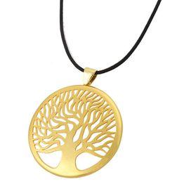 Jt Kολιέ δέντρο της ζωής απο επιχρυσωμένο ασήμι