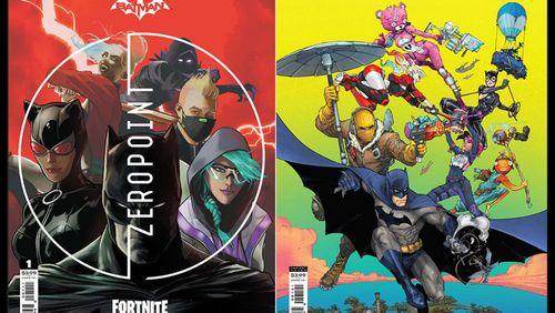 Get Ready for a Batman/Fortnite Comic Book Miniseries