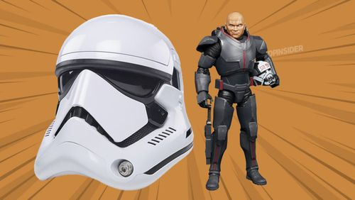 The Black Series Gets a First Order Stormtrooper Helmet and a 'The Bad Batch' Figure
