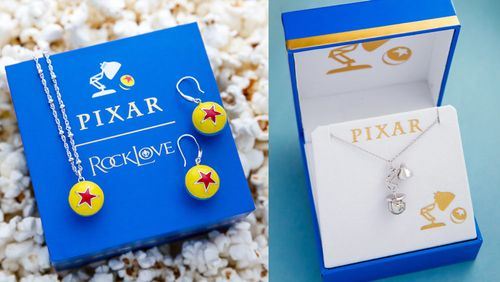 RockLove Releases Adorable Pixar Icons Jewelry Collection