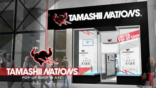 An Epic Tamashii Nations Pop-Up Shop Is Coming to NYC