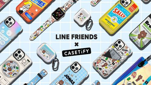 Clean Up Your Style This Spring with the Casetify x Line Friends Collection