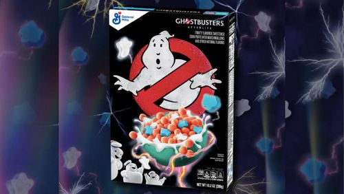 Ghosts are Busting Into a Cereal Box Near You