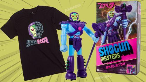 Myah! Mattel Creations Unleashes Shogun Masters Skeletor