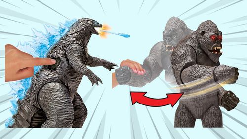 Collectible Review: Godzilla vs. Kong Action Figures