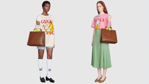 The Banana Cats of 'Bananya' Go High Fashion with a Gucci Collection