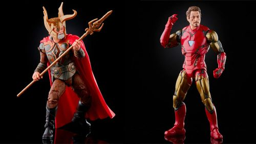 Marvel Legends Expands Infinity Saga Line with Odin and an 'Endgame' Two-Pack
