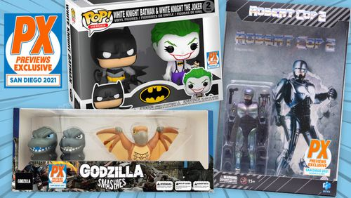 SDCC: Previews Kicks Off Con Exclusives Season with 10 Days of Product Reveals [Updated]