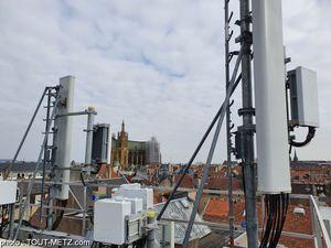Orange a activé la 5G à Metz ce 8 avril 2021