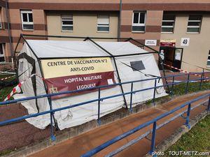 Hôpital Legouest à Metz : opération spéciale de vaccination le week-end de l'ascension