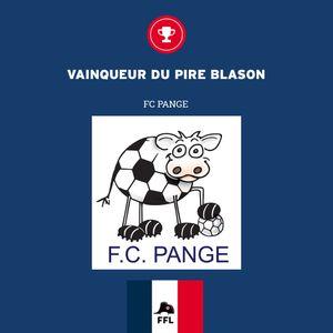 Le FC Pange décroche un trophée inattendu