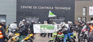 A Metz, les motards ont défilé pour dire «non» au contrôle technique