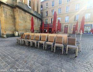 A Metz, les premiers signes de réouverture des terrasses sont en vue