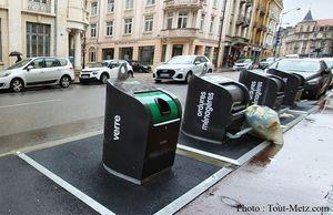 Ramassage des déchets au centre-ville à Metz : du changement dès le 19 mai