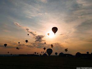 Photos : 1er vol pour l'édition 2021 du Mondial Air Ballon à Chambley