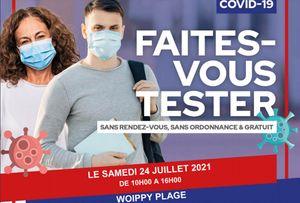 Woippy plage : opération de dépistage Covid gratuit samedi
