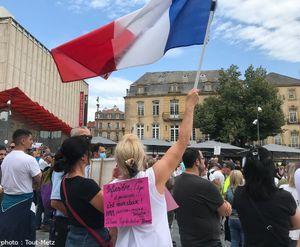 Manifestation anti-pass sanitaire à Metz : un parcours à respecter