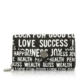LE PANDORINE Leslie Wallet HAPPINESS Black AI20DBU02636-01