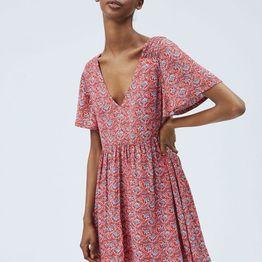 PEPE JEANS Carolina Flower Print Dress PL952826-0AA