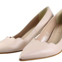 Ellen Shoes W51206 Nude/ρόζ