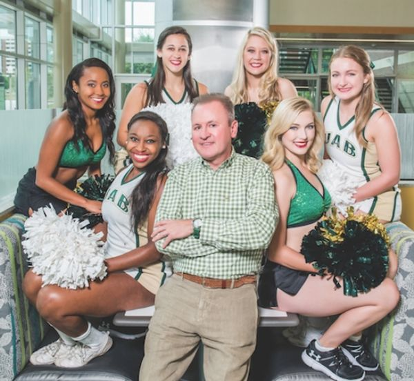 Blazer Booster: New College Alumni Board President Wesley Calhoun May Be Our Biggest Cheerleader