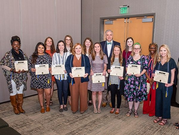 Social Work students, faculty, and partners recognized on Social Work Day