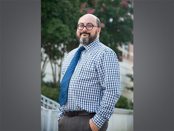 A passion for films helps Gareth Jones inspire honors students